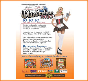 Worcester Celebrates Oktoberfest in 2010