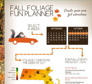 Fall Foliage Planner